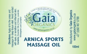 Arnica Sport Massage Oil